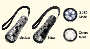 Streamlight TwinTask 1L Flashlights - Titanium & Black